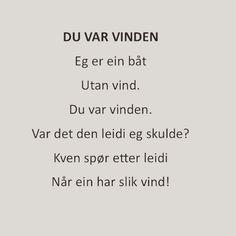 """@renpoesi: """"Av Olav H. Hauge #olavhhauge fra Dropar i austavind (1966)"""""""
