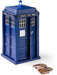 #ThinkGeek                #ThinkGeek                #Doctor #TARDIS #Talking #Money #Bank               Doctor Who TARDIS Talking Money Bank                                          http://www.seapai.com/product.aspx?PID=1806630