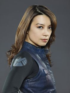 Ming-Na Wen as Agent Melinda May in Agents of S.H.I.E.L.D.
