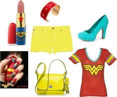 """Wonder Woman"" by rhiana-field on Polyvore"