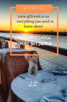 Everything you need to know about staying at Chobe Game Lodge, Chobe #Botswana