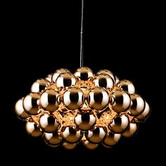 Beads Octo Copper Ceiling Light
