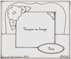 Claralesfleurs - Sketch de carte CD014