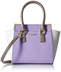 Calvin Klein Saffiano Convertible Cross Body Handbag