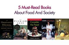 These must-read fiction and nonfiction books explore the connection between food and society. Book Club Recommendations, Michael Pollan, Kitchen Confidential, Fiction And Nonfiction, Literary Quotes, Everyday Food, New Love, Southern Recipes, Book Lists