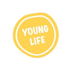 Yellow Young Life sticker on red bubble Young Life, Framed Prints, Canvas Prints, Bubbles, Social Media, Stickers, Yellow, Young Living, Photo Canvas Prints