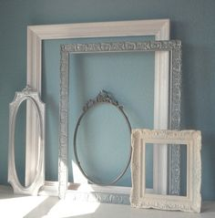Set of Ornate Vintage Picture Frames in Shades of by TheArtofChic, $180.00