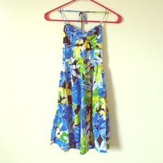 ✨HP✨Aeropostale dress Halter dress! String is adjustable. Stretchy back. Awesome condition! Aeropostale Dresses
