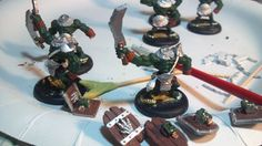 Continued progress on the orcs.