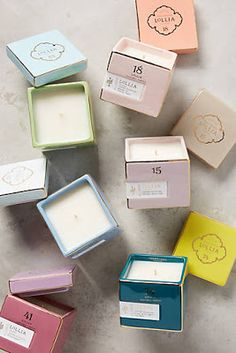 Lollia Poetic License Kerze im Karton Candle Packaging, Soap Packaging, Packaging Design, Candle Box, Candle Jars, Soy Wax Candles, Scented Candles, Perfumed Candles, Illume Candles
