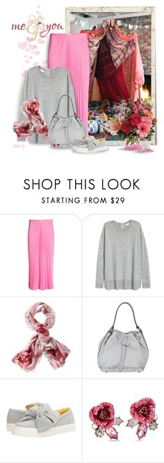 """""""Me & you"""" by peace-rf ❤ liked on Polyvore featuring H&M, TravelSmith, Asia Bellucci, Nine West and Betsey Johnson"""