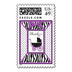 Zebra Print & Baby Carriage Thank You Stamps online after you search a lot for where to buyDeals          Zebra Print & Baby Carriage Thank You Stamps lowest price Fast Shipping and save your money Now!!...