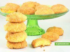 Biscotti al Cocco senza farina e Burro
