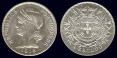 1 Escudo - prata, 1911