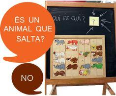 tresquatreicinc: QUI ÉS QUI? Descripcions.Llenguatge oral Toy Chest, Teaching, Storage, Toys, Blog, Animals, English, Decor, School