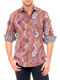 Robert Graham shirts - Chestnut - Limited Edition