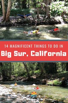 14 Magnificent Things To Do In Big Sur California - Crazy Family Adventure Adventure Time, Family Adventure, Adventure Travel, Adventure Tattoo, Big Sur California, California Coast, California Vacation, Northern California Travel, California With Kids