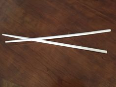 Very long and fat chop sticks for cooking udon noodles in the  boiling water.  Dont get burned!