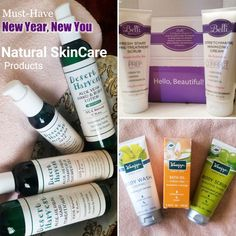 Must Have 'New Year,New You' #Skincare from @Belli_Beauty @DesertHarvest & @KneippUSA