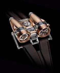 Luxury Watches: MB & F Thunderbolt Rosegold