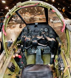 Aero Club Tornquist: Cockpit de aviones famosos