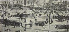 ΟΜΟΝΟΙΑ 1935 Greece Pictures, Old Pictures, Back In Time, Public Transport, Athens, Vintage Photos, Paris Skyline, The Past, History