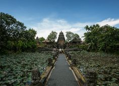 The Ubud Water Palace, also known as Puri Saren Agung.