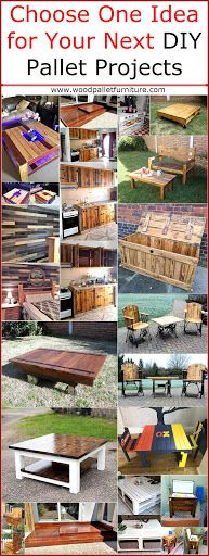 It is up to you what you want to create utilizing the recycled wood pallets because everything made with it looks outstanding and shows the creativity of the individual. You can create a pet house …