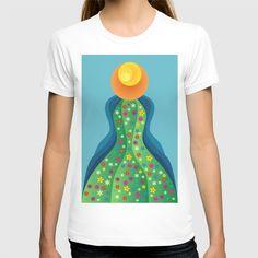 Flow of spring T-shirt