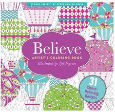 Believe Designs Coloring Book | underthecarolinamoon.com