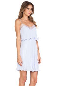erin fetherston | perriwinkle dress