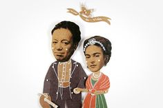 Hey, I found this really awesome Etsy listing at https://www.etsy.com/listing/189680254/frida-kahlo-and-diego-rivera-articulated