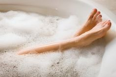 Almost evey night i take a bubble bath to help relax my back! This is why i am considering a water brith!  They make me SO happy! =)