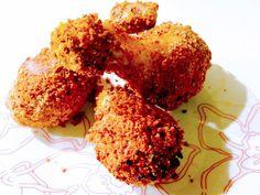Ε όχι ψητό κοτόπουλο και αυτή τη Κυριακή! Η συνταγή όταν κάνει πείνα, είναι κοτόπουλο πανέ στον φούρνο, χωρίς τηγάνισμα! Δεν θα μένει ούτε ψίχουλο! #κάνειπείνα #kaneipeina #κοτόπουλο #πανέ #συνταγή Herbs, Food, Essen, Herb, Meals, Yemek, Eten, Medicinal Plants