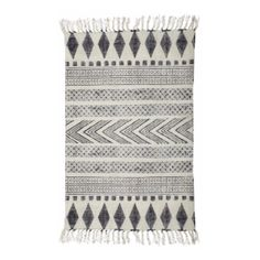 Grey & Black Block Pattern Rug ($63) ❤ liked on Polyvore featuring home, rugs, gray rug, grey rug, grey area rug, black grey rug and black area rugs