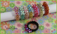 Everyday Sparkle Ring by Beadwork by Sian, via Flickr