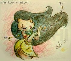 Pocahontas by ~mashi on deviantART