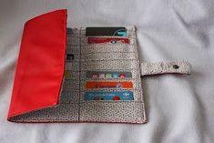 Couture du jour: un porte cartes de fidélité pouvant contenir 30 cartes!