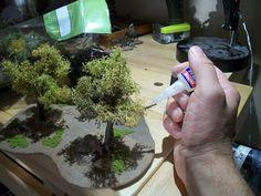 LEGIO XXVIII LILIPVTIA: Green Wargaming on a Budget: Making Trees from Repurposed Junk