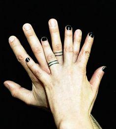 Casais substituem alianças por tatuagens; veja seleção | Estilo