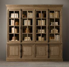 French Casement Wide Sideboard U0026 Hutch   Wood Shelving U0026 Cabinets   Restoration  Hardware