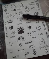 Risultati immagini per drawing grunge