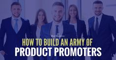 product promoters, mlm team