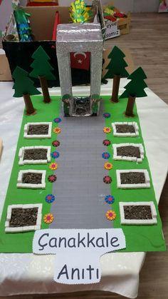 Çanakkale Anıtı maketi France, Tree Branches, Kids And Parenting, How To Plan, How To Make, Martini, Art Pieces, 18th, Preschool