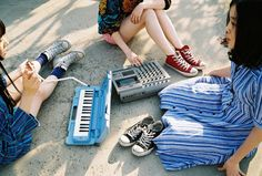 bermain pianika