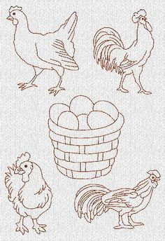 Free Hand Stitched Embroidery Designs | free embroidery patterns Archives – Needle'nThread.com