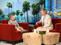 Ellen met Noah Ritter after a video of him went viral. Nobody could have predicted what she was in for.