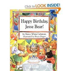 Happy Birthday, Jesse Bear! by Nancy White Calrstrom
