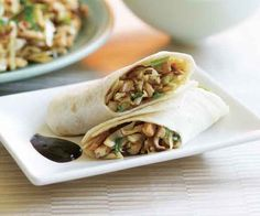 Chinese pork and mushroom wrap | Image source: Finecooking.com