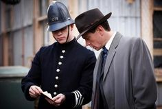 Detective Inspector Robinson & Constable Collins - miss-fishers-murder-mysteries Photo